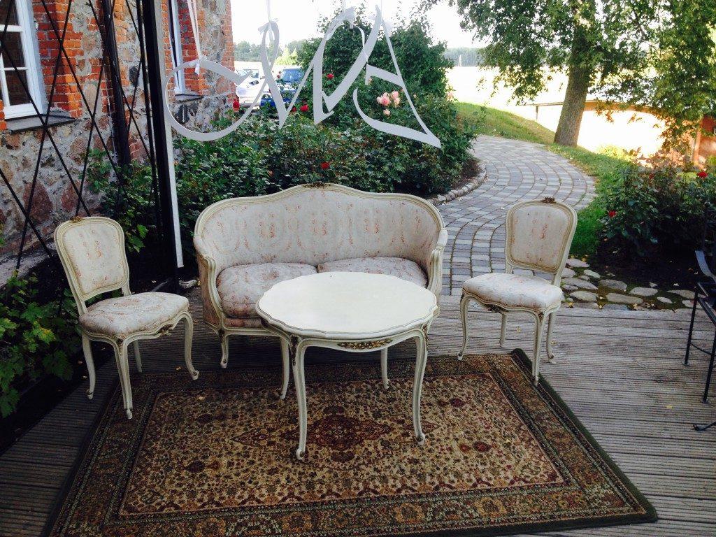 Dīvānu komplekts ar galdu (DVK01) Sofa set with table Комплект мебели