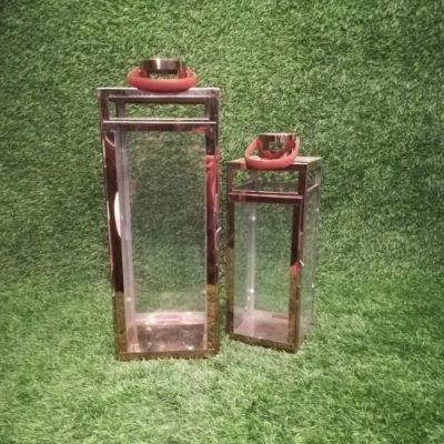 Bronzas sveču laternas (SLK7) Бронзовые свечные фонари Bronze candle lanterns | Inventāra noma kāzām, pasākumiem | EventRent