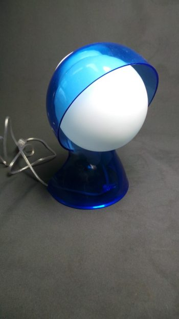 Zila galda lampa (G05) Синяя настольная лампа Blue table lamp