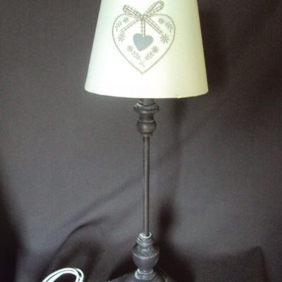 Romantiska galda lampa (G04) Романтическая настольная лампа Romantic table lamp