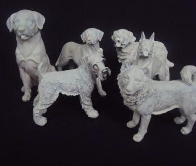 Suņu figūras (DZ12) Figurines - dogs rent Фигурки - собаки