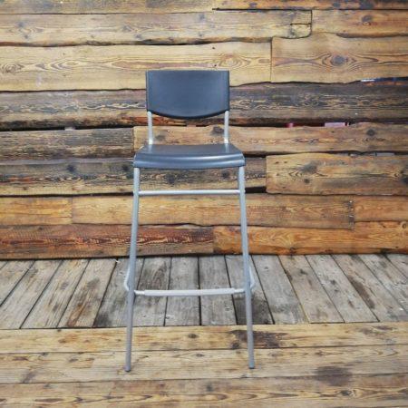 Melns bāra krēsls (KR09)