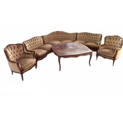 Dīvānu komplekts ar galdu (DVK05) Sofa set with armchairs and table Комплект диванов