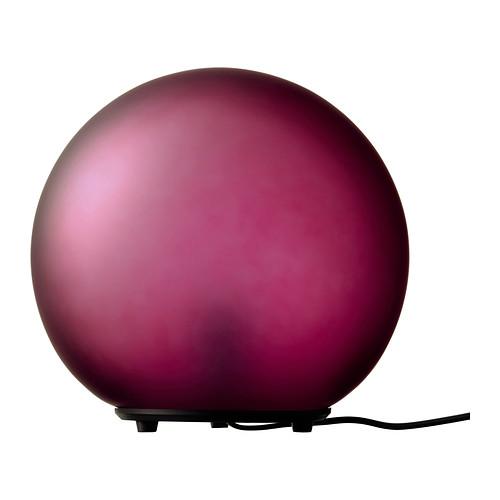 Dekoratīva galda lampa sarkanā krāsā (G12) Декоративная красная настольная лампа Decorative red table lamp