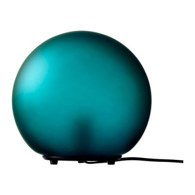 Dekoratīva galda lampa zaļā krāsā (G13) Декоративная зелёная настольная лампа Decorative green table lamp