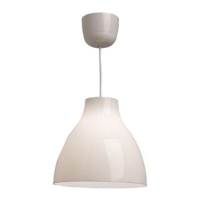 Balta griestu lampa (G16) Белый подвесной светильник White pendant lamp