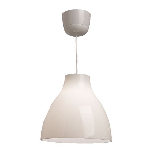Balta griestu lampa (G15) Белый подвесной светильник White pendant lamp