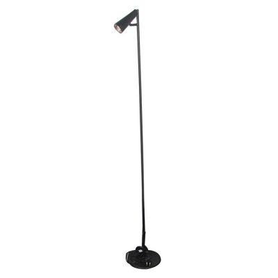 Melna stāvlampa (G22). Чёрный торшер Black floor lamp Apgaismojuma noma. Gaismas noma. lampu noma