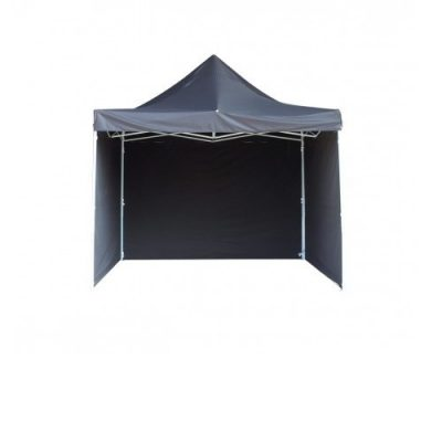 Telts 3x3m melnā krāsā. Telšu noma. Telts īre pasākumiem Black tent 3x3m (TLT2) Черный шатер 3x3m (TLT2)