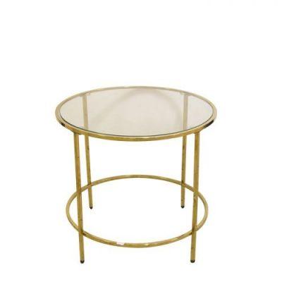 Galds zelta krāsā D55 (GL Gold table D55 Золотой стол D55