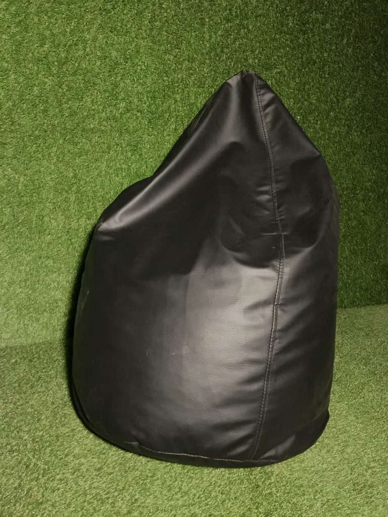 Melns sēžammaiss (PF13) Bean bag - black for rent Пуф - черный