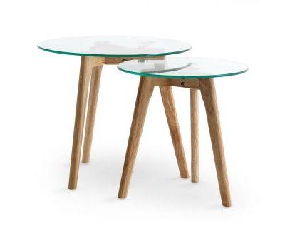 Kafijas galdiņu komplekts (GLD06) Coffee table set (GLD06) Набор кофейных столиков (GLD06)