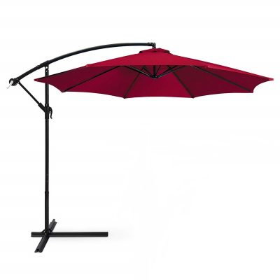 Saulessargs sarkans Красный уличный зонт Red garden parasol saulessargu noma