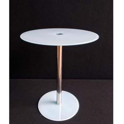 Galds baltā krāsā D43 White table D43 (GLD04) Белый стол D43 (GLD04)
