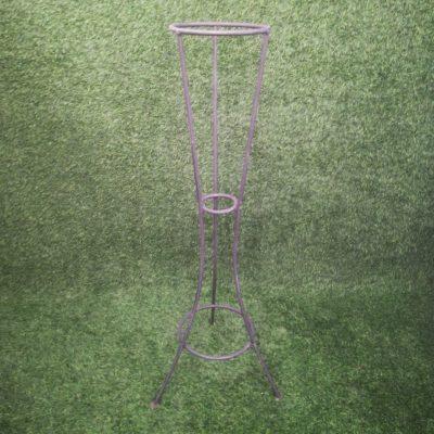 Melns metāla statīvs (STT7) Черный штатив для цветочных горшков Black metal stand statīvu noma, statīvi