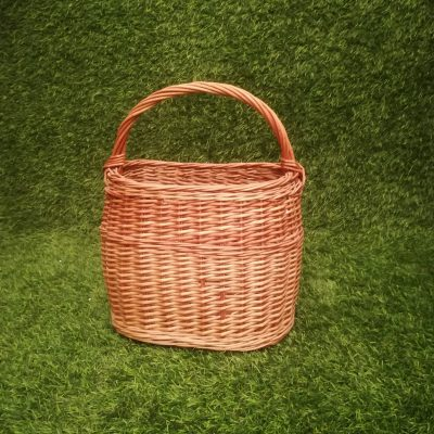 Pīts grozs (GRO22) grozi, grozu noma Плетеная корзина Wicker basket