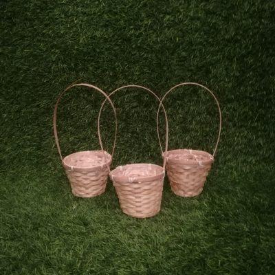 Pīti grozi (GRO19) grozs, grozu noma Плетеные корзины Wicker baskets