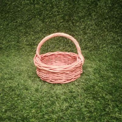 Brūns pīts grozs (GRO16) grozi, grozu noma Коричневая плетеная корзина Brown wicker basket