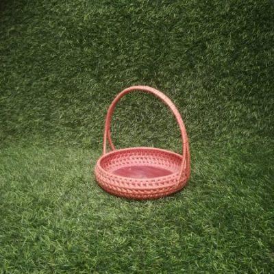 Brūns pīts grozs (GRO5) Grozu noma, grozi Коричневая плетеная корзина Brown wicker basket