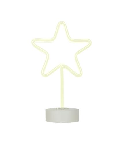 Neona lampa - zvaigzne
