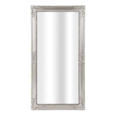 Spogulis ar sudraba rāmi (SPO4). Spoguļu noma. Spoguļi Silver framed mirror for rent Зеркало в серебряной раме