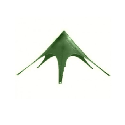 Zvaigzne - telts zaļā krāsā Star - Green tent (TLT4) Звезда - Звезда - зеленый шатер (TLT4)