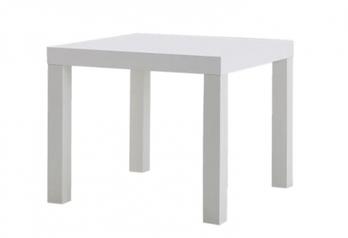 Balts žurnālgalds (GLD08) galdu noma White coffee table (GLD08) Белый журнальный столик (GLD08)