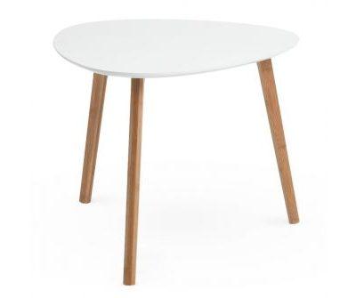Balts kafijas galdiņš (GLD05) White coffee table (GLD05) Белый журнальный столик (GLD05)