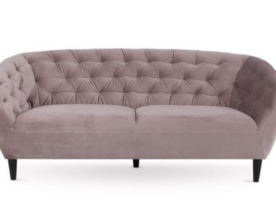 Dīvāns gaiši rozā krāsā (DV11) mēbeļu noma, dīvānu noma Light pink sofa for rent Светло - розовый диван