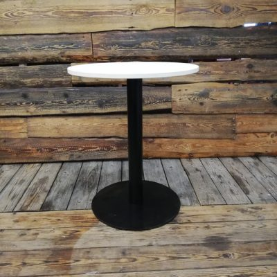 Galds ar melnu metāla kāju 74cm Коктейльный стол Standing table