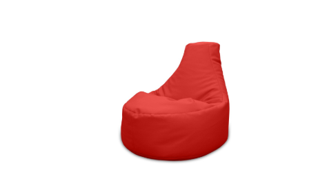 Incredible Red Bean Bag Xl Pouf Bean Bag Rent For Your Event Eventrent Short Links Chair Design For Home Short Linksinfo