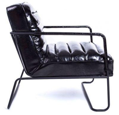 Melns atpūtas krēsls mēbeļu noma, atpūtas krēslu noma, krēslu noma