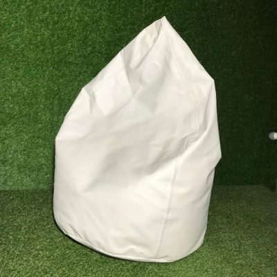 Balts sēžammaiss Bean bag - white for rent Пуф - белый