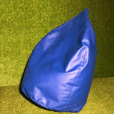 Zils sēžammaiss noma Bean bag - blue for rent event Пуф - синий