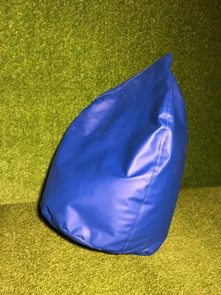 Zils sēžammaiss noma Bean bag - blue for rent event Пуф - синий