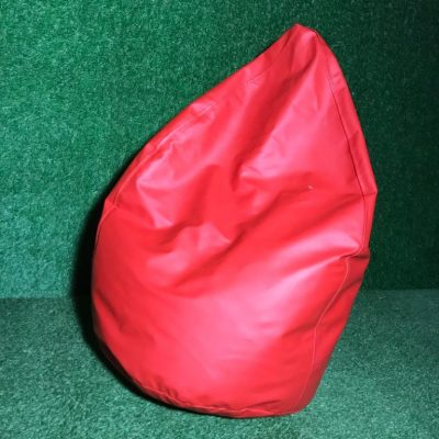 Sarkans sēžammaiss (PF10) Bean bag - red for rent Пуф - красный