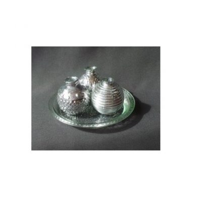 Stikla vāzīšu komplekts (VZ13) Набор стеклянных ваз Set of glass vases
