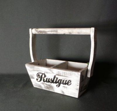 Dekoratīva koka puķu kaste (PK02) Декоративный ящик для цветов Decorative flower box