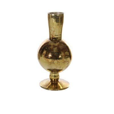 Zelta stikla vāze Золотая стеклянная ваза Gold glass vase vāžu noma