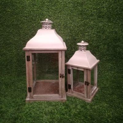 Koka laternas (SL29) Деревянные свечные фонари Wooden candle lanterns svečturu noma