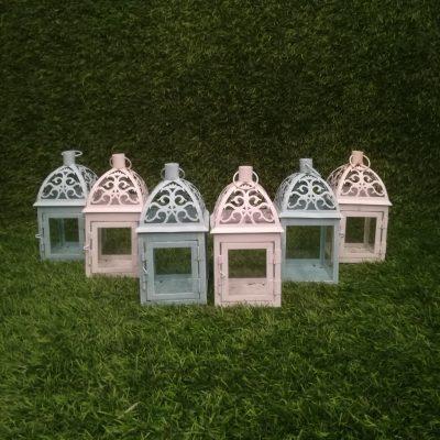 Metāla sveču laternas (SL26) Металлические свечные фонари metal candle lantern svečturu noma