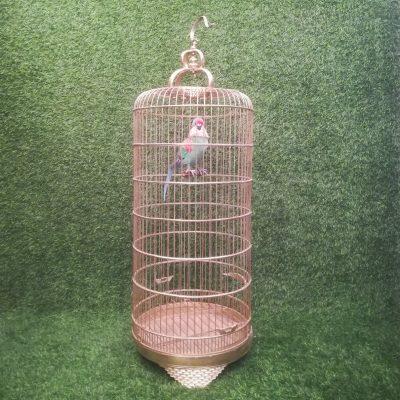 Zelta putnu būris (PB13) putnu būru noma Золотая клетка для птиц Gold Bird Cage