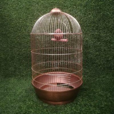 Zelta metāla putnu būris putnu būru noma īre Золотая клетка для птиц Gold bird cage (PB12)