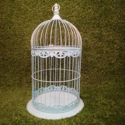 Tirkīza krāsas metāla putnu būris putnu būru noma Turquoise Bird Cage Бирюзовая клетка для птиц