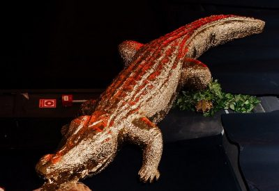 Krokodils (DZ21) dzīvnieku figūru noma. iznomā krokodilu . krokodils