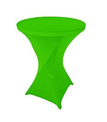 Zaļš elastīgs stāvgalda galdauts - zeķe Эластичная зеленая скатерть Elastic green tablecloth