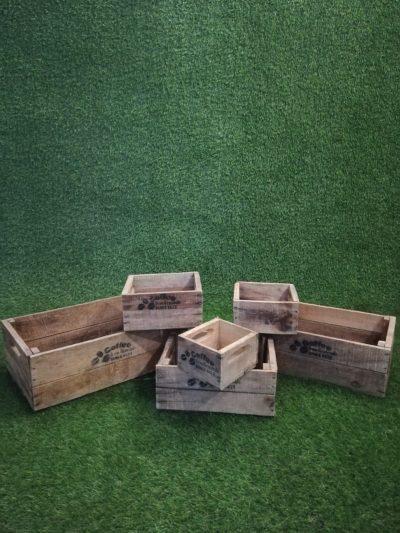 Koka kastīšu komplekts (KS3) Набор деревянных ящиков Set of wooden boxes