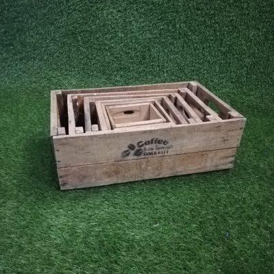 Koka kastīšu komplekts (KS3)