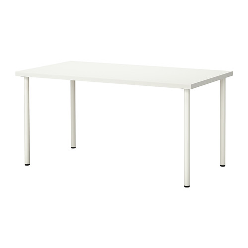 Balts galds 120x60 Белый стол White table īre, noma