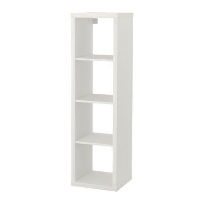 Balts plaukts noma 1x4 Shelving unit 1x4 for rent Стеллаж 1x4